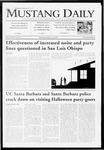 Mustang Daily, October 26, 2009