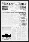 Mustang Daily, October 27, 2009