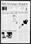 Mustang Daily, October 28, 2009