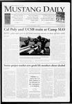 Mustang Daily, November 3, 2009