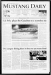 Mustang Daily, November 5, 2009