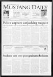 Mustang Daily, November 9, 2009