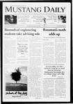 Mustang Daily, November 10, 2009