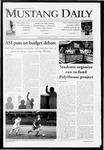 Mustang Daily, November 12, 2009