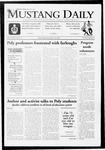 Mustang Daily, November 18, 2009