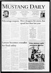 Mustang Daily, November 30, 2009