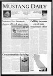 Mustang Daily, December 3, 2009