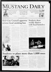 Mustang Daily, January 11, 2010