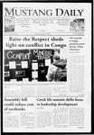 Mustang Daily, January 26, 2010