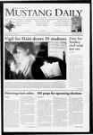 Mustang Daily, January 28, 2010