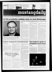 Mustang Daily, May 25, 2010
