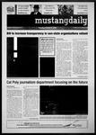 Mustang Daily, October 5, 2010