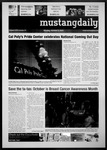 Mustang Daily, October 11, 2010