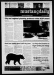 Mustang Daily, November 1, 2010