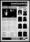 Mustang Daily, November 3, 2010