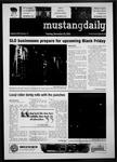 Mustang Daily, November 23, 2010