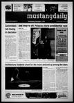 Mustang Daily, December 1, 2010