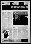 Mustang Daily, January 10, 2011