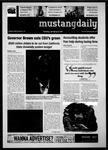Mustang Daily, January 11, 2011