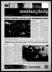 Mustang Daily, March 7, 2011