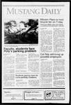 Mustang Daily, September 26, 1991