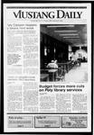 Mustang Daily, September 27, 1991