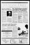 Mustang Daily, October 1, 1991