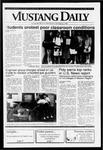 Mustang Daily, October 2, 1991