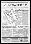 Mustang Daily, October 3, 1991