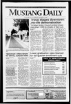 Mustang Daily, October 7, 1991