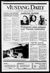 Mustang Daily, October 8, 1991