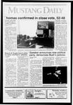 Mustang Daily, October 16, 1991