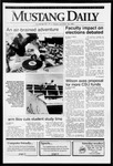 Mustang Daily, October 18, 1991