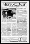 Mustang Daily, October 21, 1991