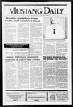 Mustang Daily, October 22, 1991