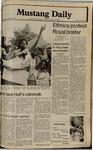 Mustang Daily, April 23, 1980