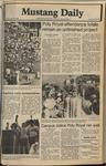 Mustang Daily, April 29, 1980