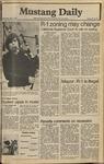 Mustang Daily, May 7, 1980