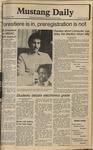 Mustang Daily, May 13, 1980