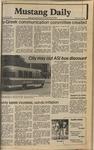Mustang Daily, May 22, 1980