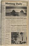 Mustang Daily, May 29, 1980
