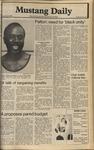 Mustang Daily, June 3, 1980