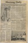 Mustang Daily, September 26, 1980