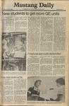 Mustang Daily, October 3, 1980