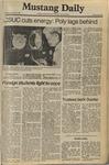 Mustang Daily, October 9, 1980