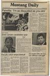 Mustang Daily, October 28, 1980