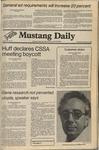 Mustang Daily, November 4, 1980