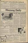 Mustang Daily, November 6, 1980