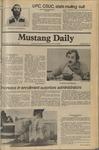 Mustang Daily, November 12, 1980