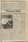 Mustang Daily, November 18, 1980